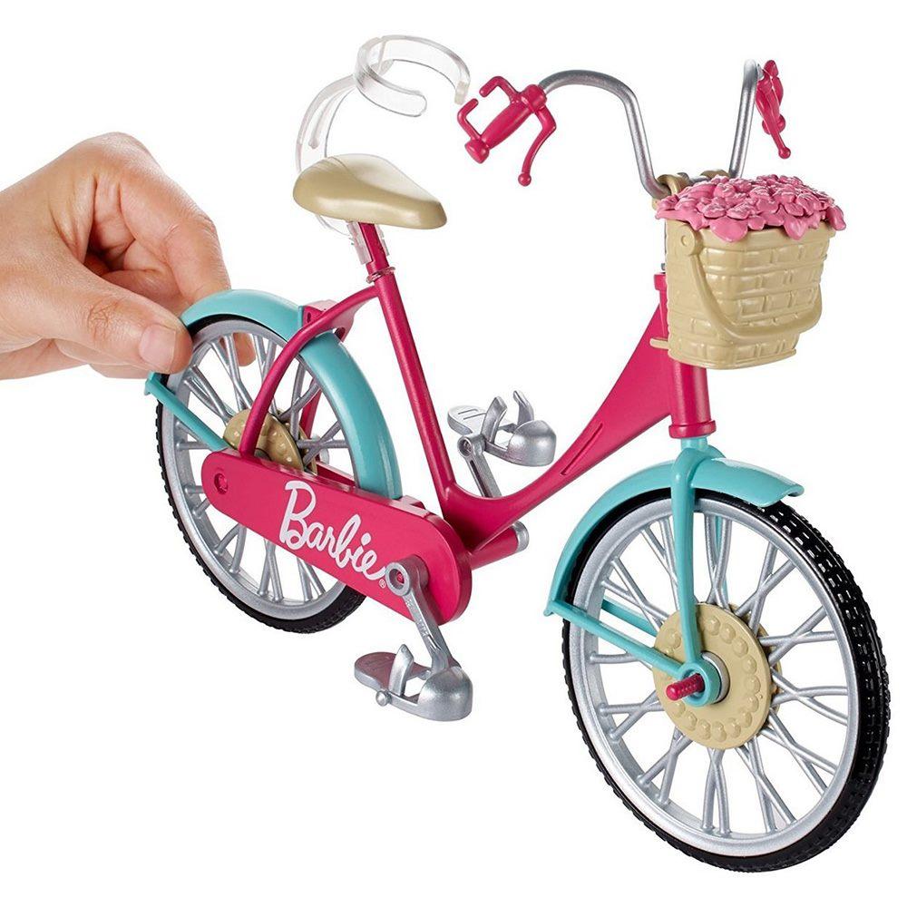... Транспорт для ляльок - Аксесуари для ляльки Велосипед Barbie (DVX55) 3  ... 6fb780718b5e4