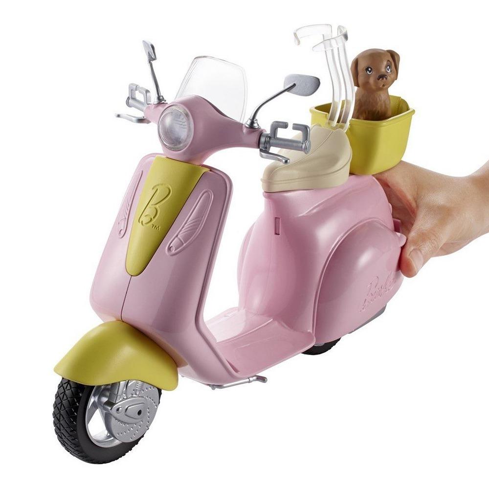 ... Транспорт для ляльок - Аксесуари для ляльки Мопед Barbie (DVX56) 2 ... 09b1c7b979820