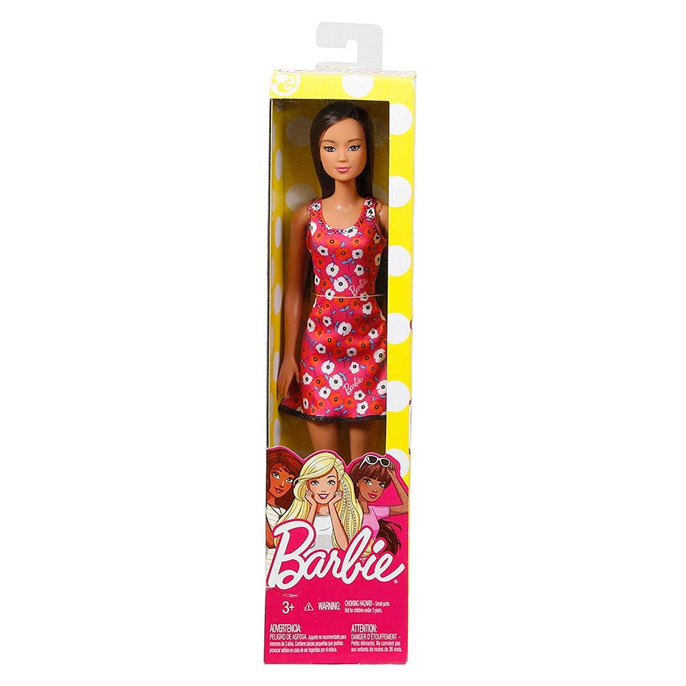 504b0fbfaed ... Модельные куклы - Модная кукла в платье с азиатскими цветами Barbie  Супер стиль (T7439