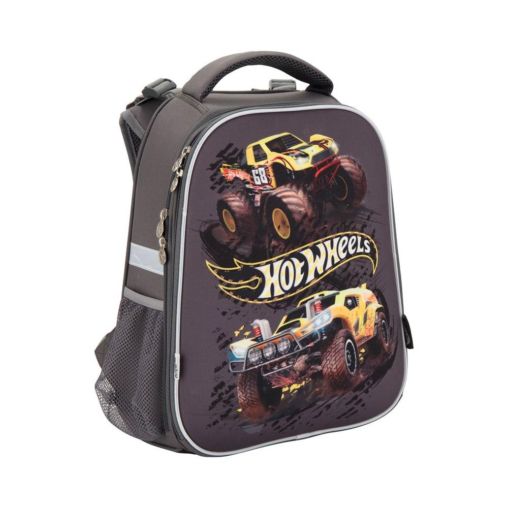 ... Рюкзаки та сумки - Рюкзак шкільний каркасний Kite Hot Wheels  (HW17-531M)  ... 5a78374756b36