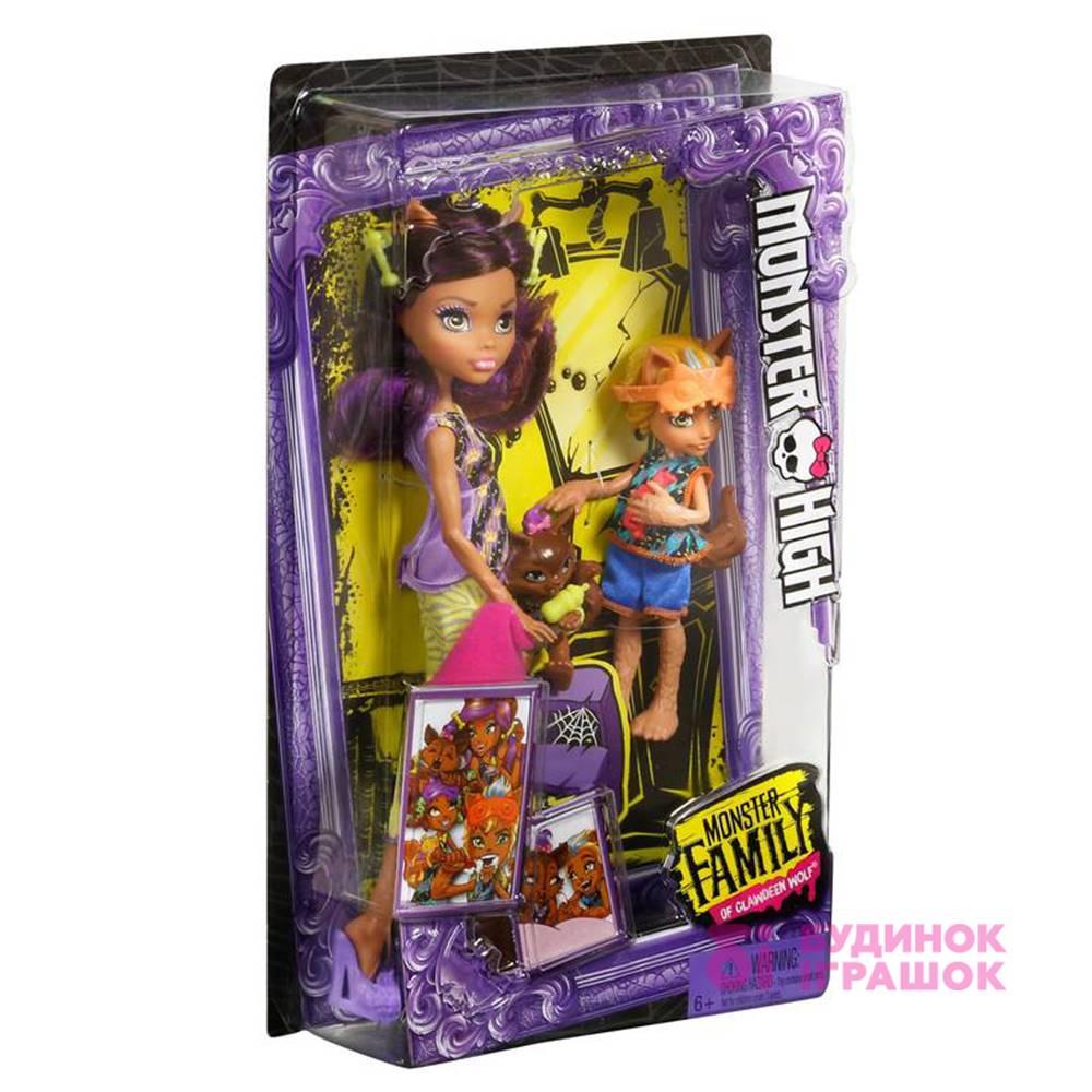 ... Модельні ляльки - Набір Monster High Monster Family Клодін b271cf98c337e