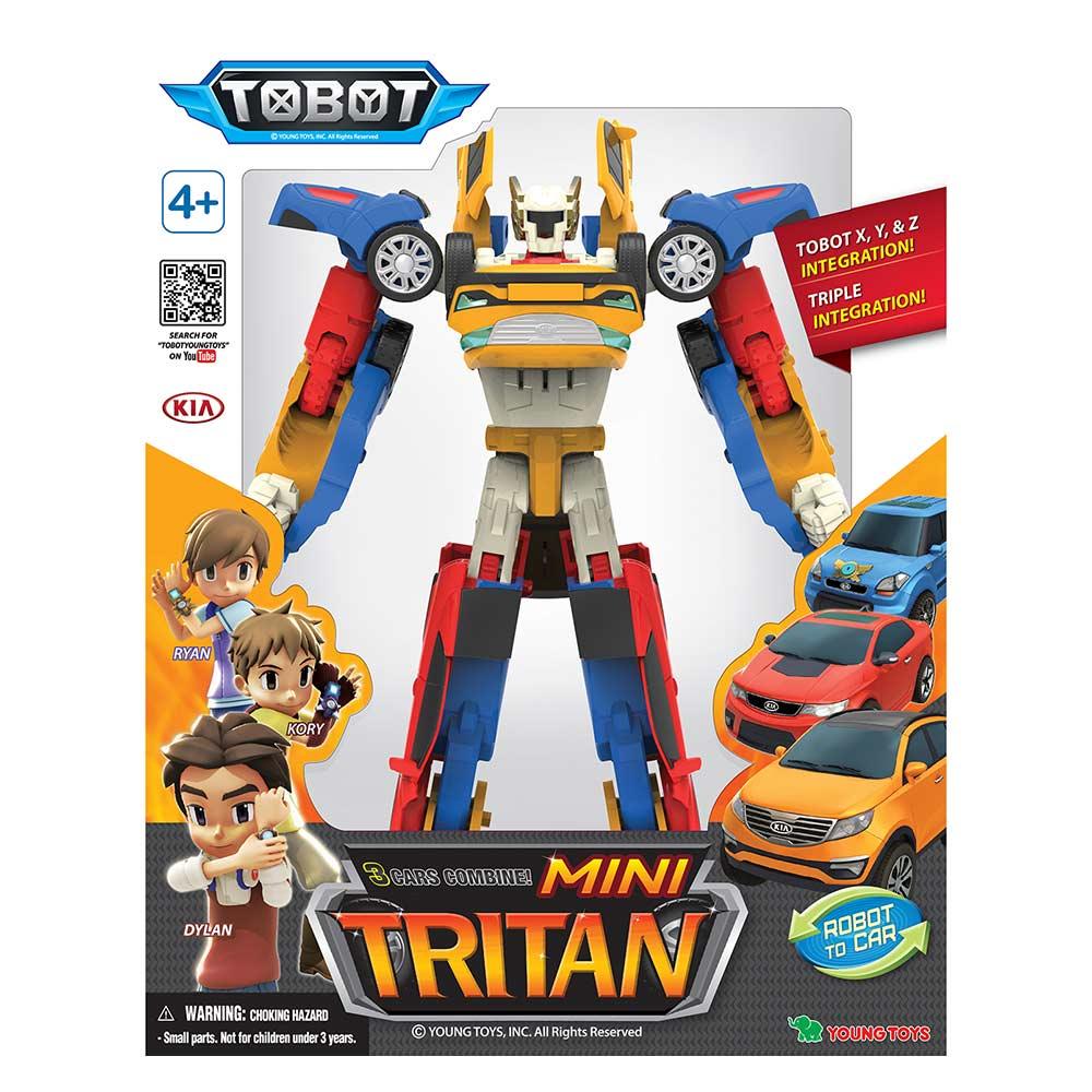 ... Роботи та трансформери - Іграшка-трансформер міні TOBOT Трітан (301056 ) 5 9917b8f9fc38f