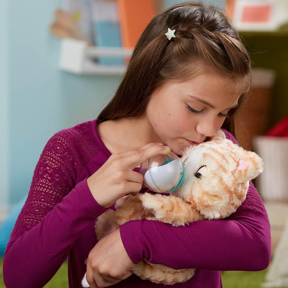 ... Интерактивные мягкие животные - Интерактивная мягкая игрушка FurReal  Friends Котёнок Сара (E0418) 3 ... 103418a0f9422