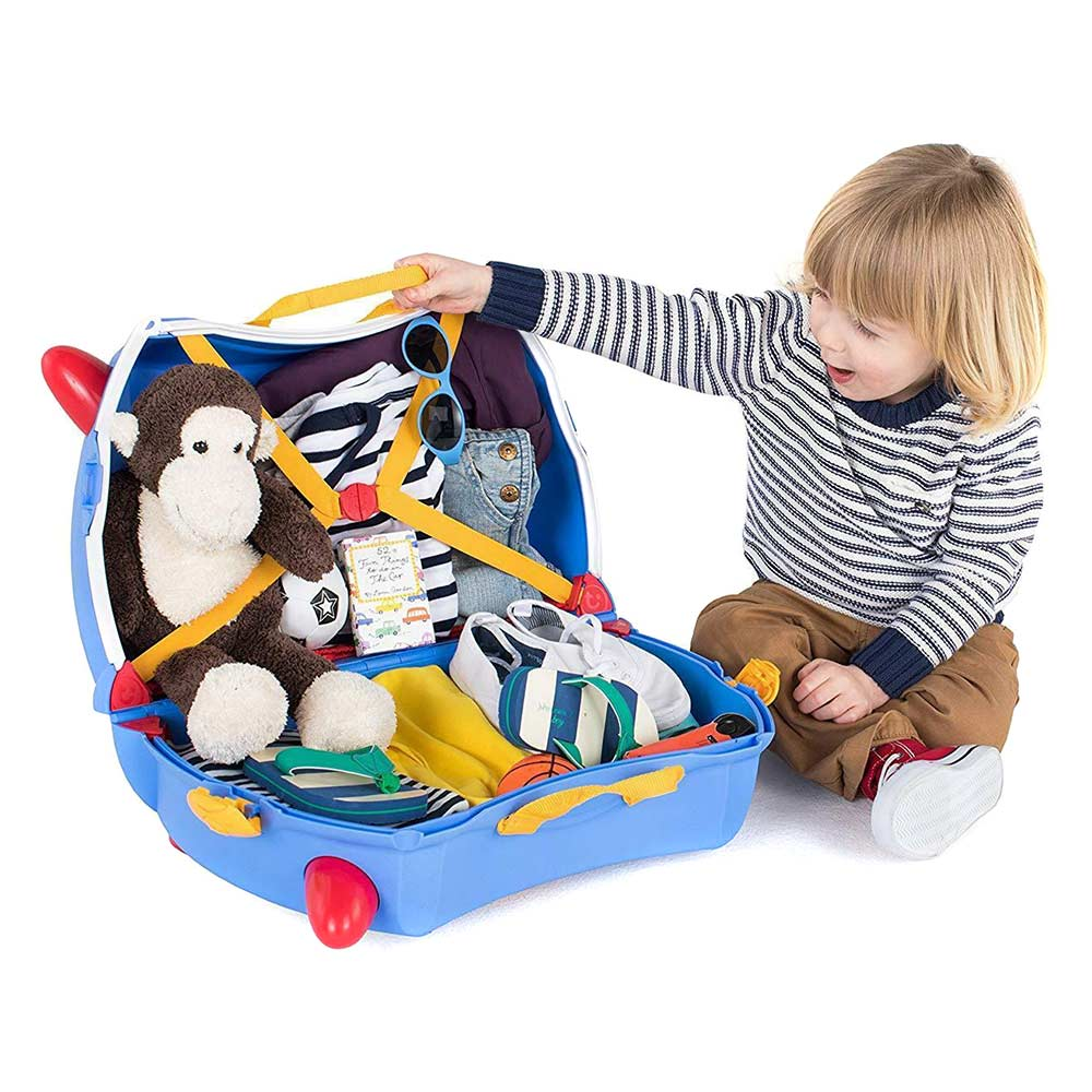 7dfd0610f7d0 ... Рюкзаки и сумки - Детский чемодан Trunki Paddington (0317-GB01-UKV)# ...