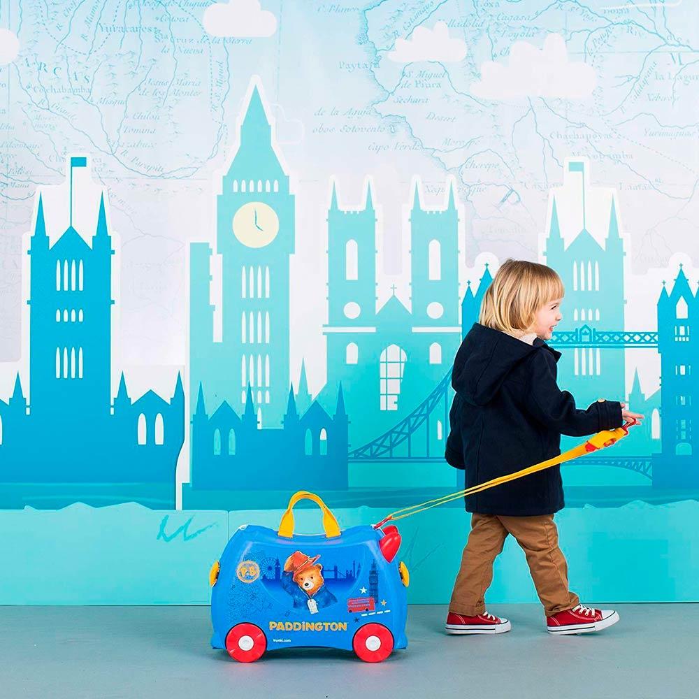 60a858534282 ... Рюкзаки и сумки - Детский чемодан Trunki Paddington (0317-GB01-UKV)#