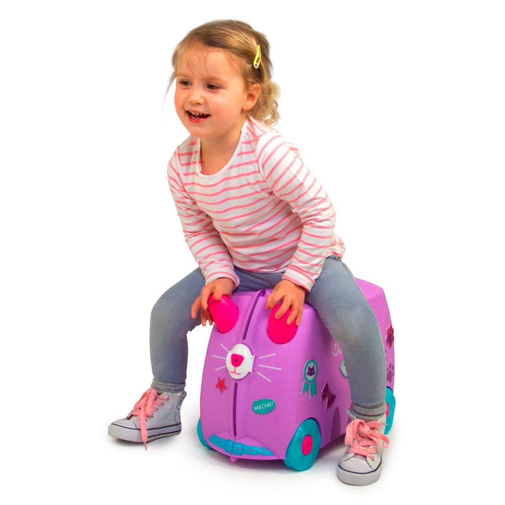 df80a76a9ae2 ... Рюкзаки и сумки - Детский чемодан Trunki Cassie candy cat (0322-GB01)#  ...