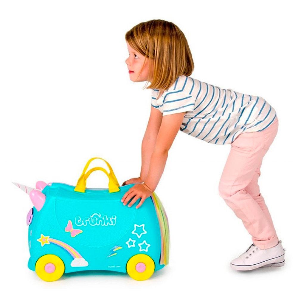 8aba614ae52a ... Рюкзаки и сумки - Детский чемодан Trunki Una the unicorn (0287-GB01-UKV  ...