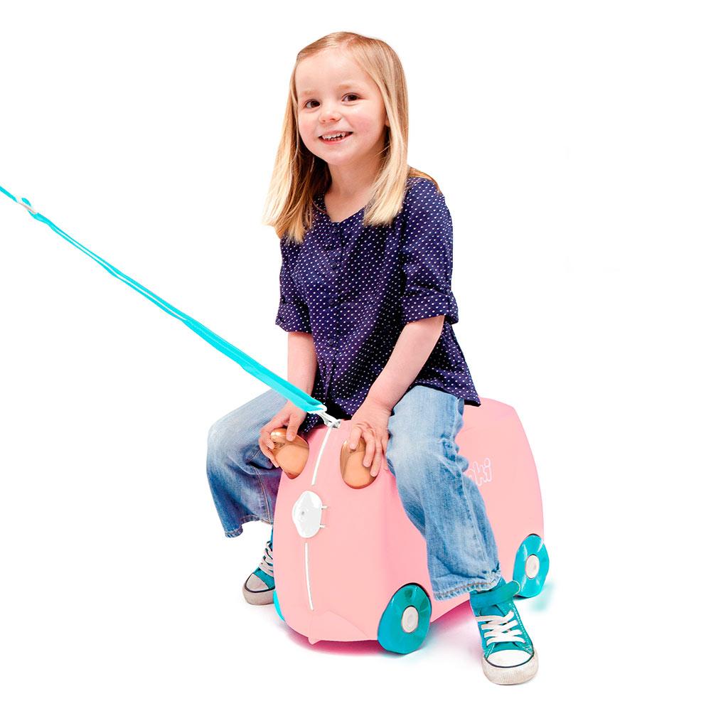 b84239085ea8 ... Рюкзаки и сумки - Детский чемодан Trunki Flossiflamingo (0353-GB01)#5