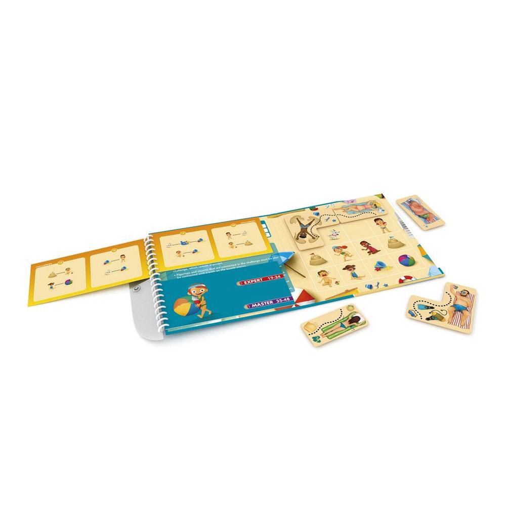 Настольные игры - Настольная игра Smart games Пляжные приключения дорожная (SGT 300 UKR)
